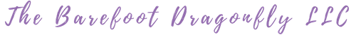The Barefoot Dragonfly Logo