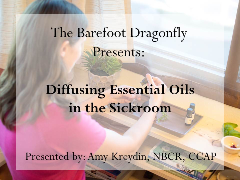 Diffusing Essential Oils in the Sickroom