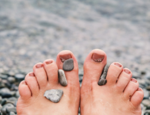 Why is my foot pain worse around ovulation?